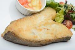 Roast sea fish Royalty Free Stock Photo