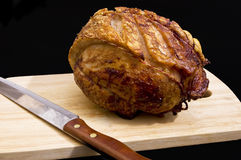 Roast Shoulder of Pork Royalty Free Stock Photos