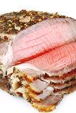 Roast slice chunk Stock Photos