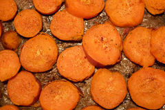 Roast sweet potatoes Stock Image