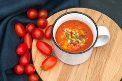 Roast Tomato Soup Stock Photo
