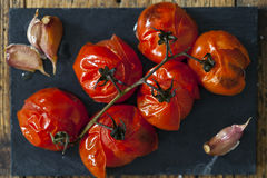 Roast tomatoes Royalty Free Stock Photo