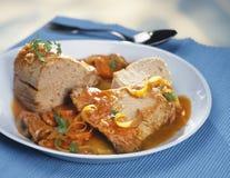 Roast tuna casserole Stock Photo