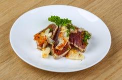 Roast Tuna steak Royalty Free Stock Photos