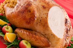 Roast Turkey Stock Images