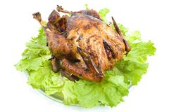 Roast Turkey Royalty Free Stock Photography