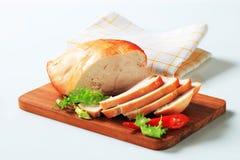Roast turkey breast stock photography