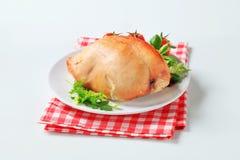 Roast turkey breast stock photos