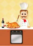 Roast turkey Royalty Free Stock Images