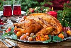 Roast turkey Stock Images