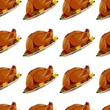 Roast Turkey Stock Photo
