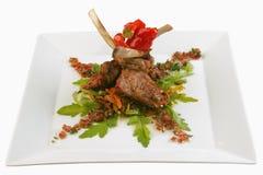 Roast veal royalty free stock photo