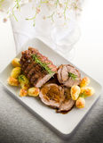 Roast of veal Royalty Free Stock Photo
