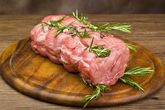 Roast Veal Royalty Free Stock Photo