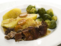 Roast veal Stock Image