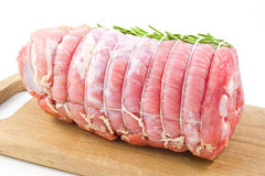 Roast of veal with rosemary Stock Photography