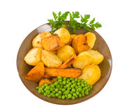 Roast Vegetables Royalty Free Stock Photography