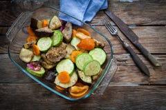 Roast veggies Royalty Free Stock Image