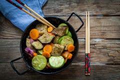 Roast veggies Stock Image