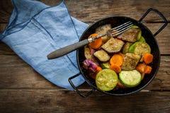Roast veggies Royalty Free Stock Photos