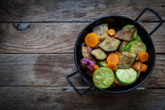 Roast veggies Royalty Free Stock Photography
