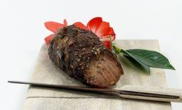 Roast wild boar Stock Photos