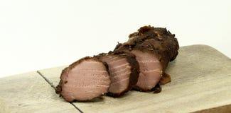 Roast wild boar Stock Images