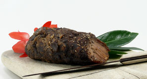 Roast wild boar Royalty Free Stock Photo