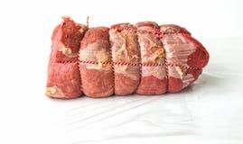 Roastbeef prepared stock image