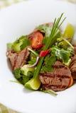 Roastbeef salad Stock Photo