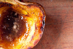 Roasted acorn squash Stock Photography
