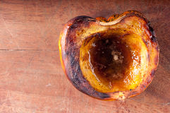 Roasted acorn squash Royalty Free Stock Photography