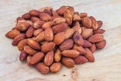 Roasted almond Royalty Free Stock Photos