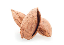 Roasted almond nut Royalty Free Stock Images