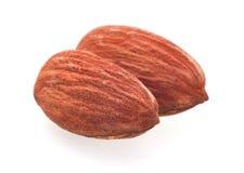 Roasted almond nut Stock Photos