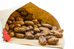 Roasted almonds Royalty Free Stock Image