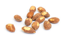 Roasted almonds . Royalty Free Stock Image