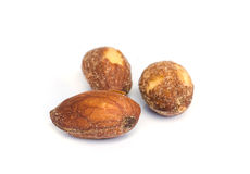 Roasted almonds . Stock Photography