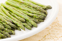 Roasted Asparagus with Herbs Stock Image