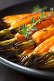 Roasted Baby Carrots with Thyme Royalty Free Stock Photography