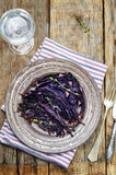 Roasted balsamic thyme honey red cabbage Stock Images