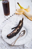 Roasted bananas Stock Photography