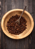 Roasted beans coffee Stock Photos