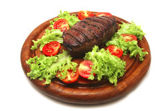 Roasted beef meat steak Royalty Free Stock Images