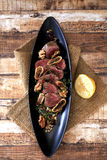Roasted beef tenderloin Royalty Free Stock Photos