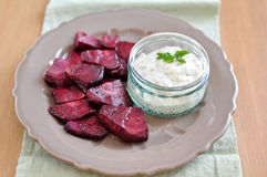 Roasted Beet Root Royalty Free Stock Photo
