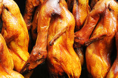 Roasted Beijing ducks. Royalty Free Stock Image
