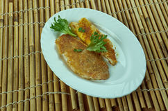 Roasted Bombay duck stock photos