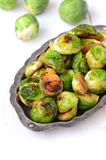 Roasted Brussel Sprouts stock image