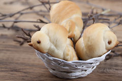 Roasted buns Royalty Free Stock Images